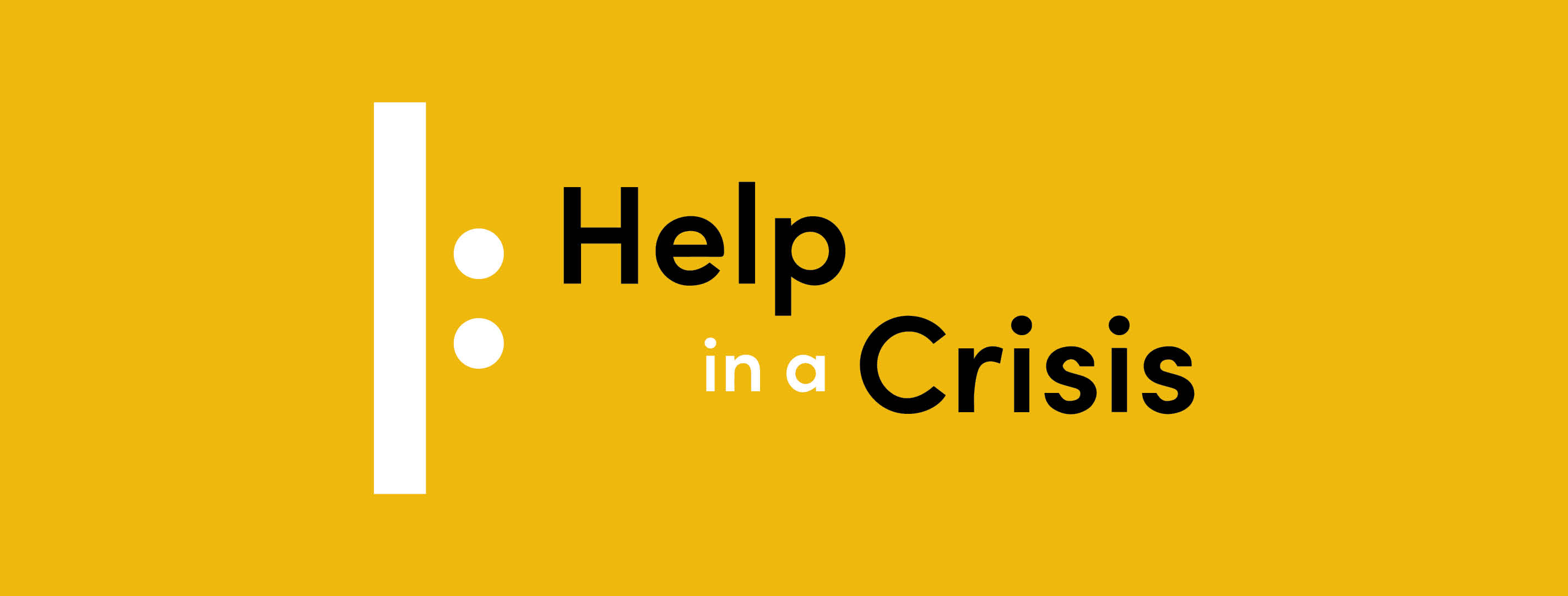 Health & Welfare - Help in a Crisis