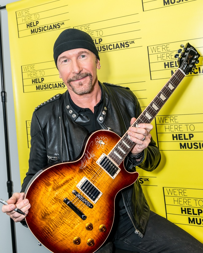 The Edge Sign guitar