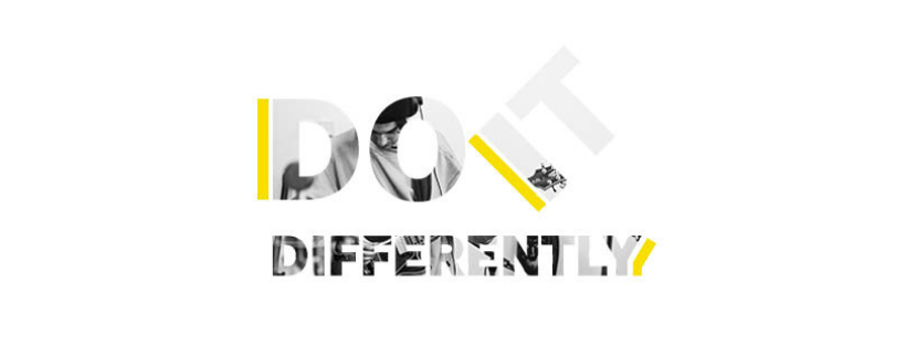 do it differently banner