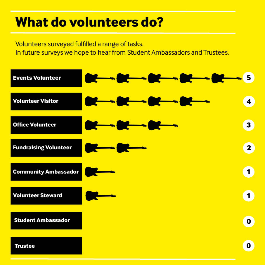 What do volunteers do2