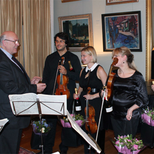 Chiaroscuro Quartet perform in support of musicians in crisis