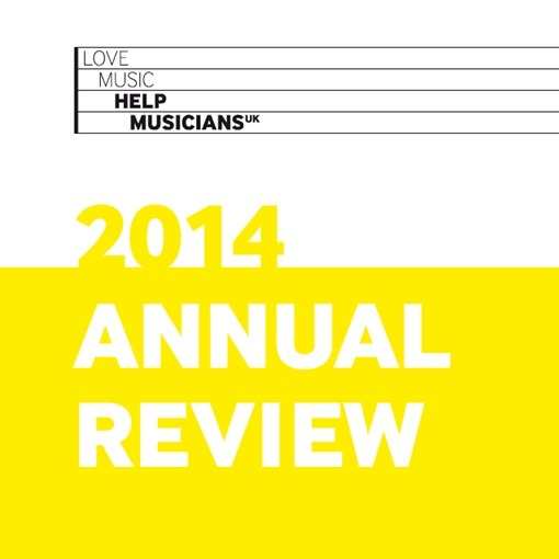 2014 Annual Review launched at Help Musicians UK AGM