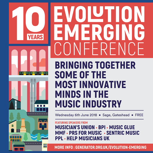 HELP MUSICIANS UK PARTNERS WITH EVOLUTION EMERGING 2018