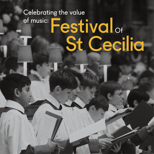 Celebrating the value of music: Festival of St Cecilia 2020 - airing November 18