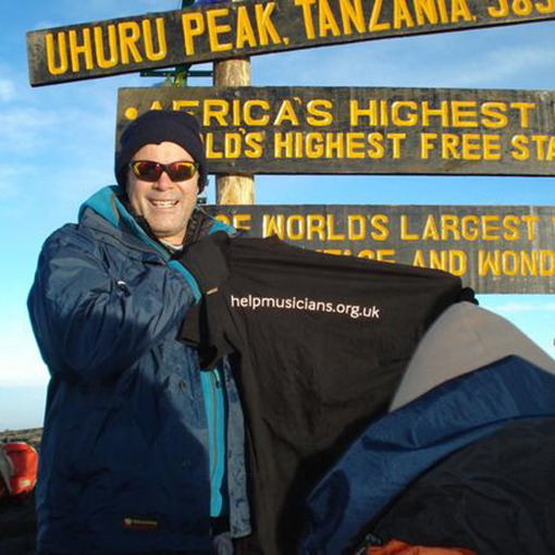 Gerald Finley has conquered Kili – show your support