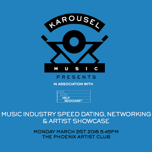 Music industry 'speed-dating' with Karousel Music