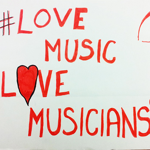 Happy Valentine's Day from Help Musicians UK