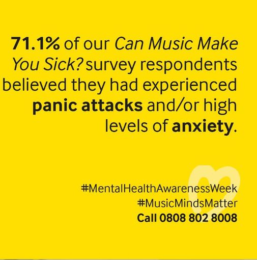 Mental Health Awareness Week and the Music Minds Matter mental health service