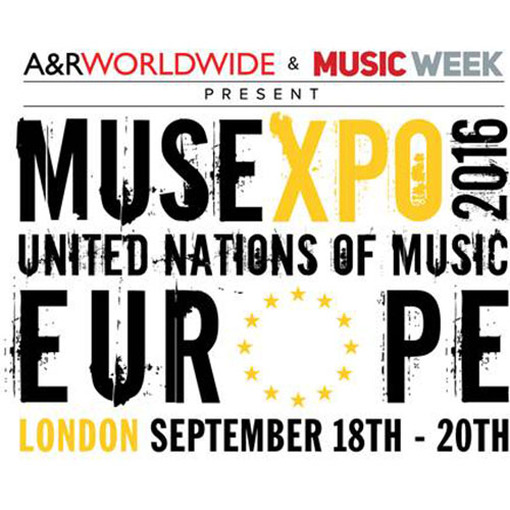 Proud to be charity partner for MUSEXPO Europe
