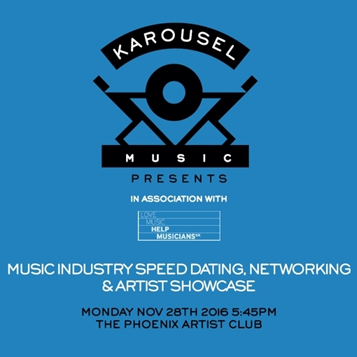 Music industry comes together for 'speed-dating' & showcase