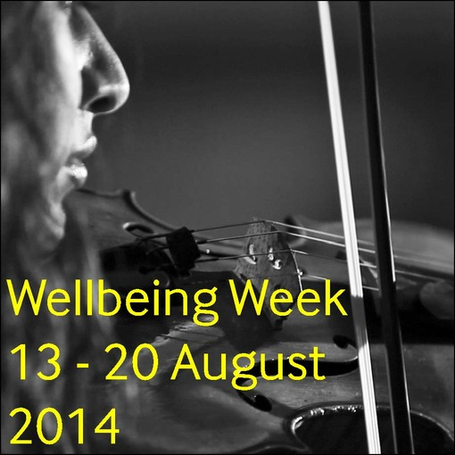 Join us on 13 - 20 August 2014 for Wellbeing Week!