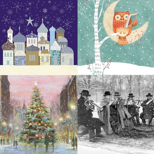 Our musical Christmas cards available across the country
