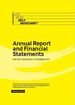 2017 Annual Report and Financial Statements