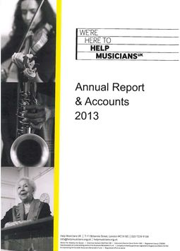 Reports and Accounts 2013